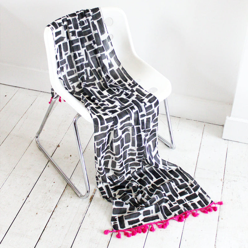 Paint Stripe Scarf