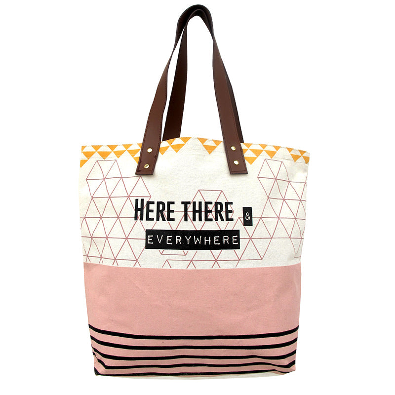 "Arm Candy ""Here, There ...""  Tote Bag"