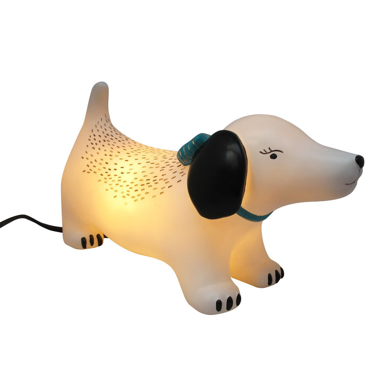 Over The Moon Hot Dog Lamp