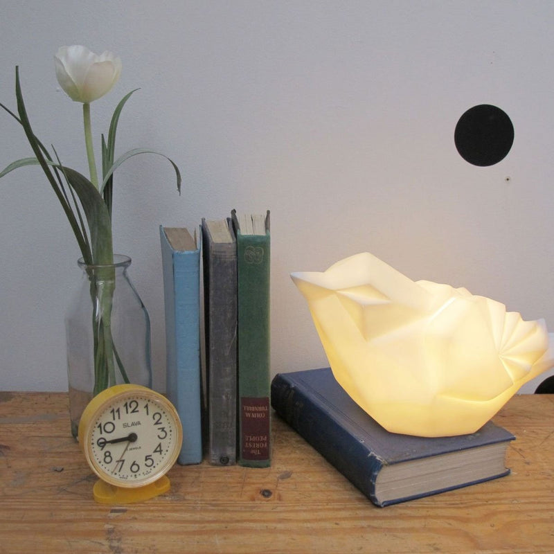 White Bird Lamp