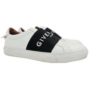 Givenchy Women's Urban Knot Logo White Leather Slip On Sneakers EU 38 / US 8