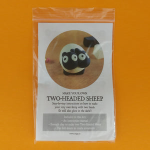 Make Your Own 2-Headed Sheep kit! Each kit makes two 2-Headed Sheep