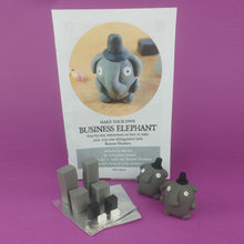 Load image into Gallery viewer, Make Your Own Business Elephants Kit! Each kit makes 2 Business Elephants