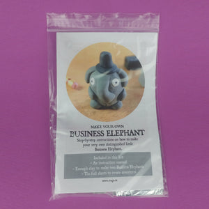 Make Your Own Business Elephants Kit! Each kit makes 2 Business Elephants