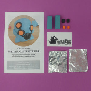 Make Your Own Post-Apocalyptic Dudes Kit! Each kit makes 2 Post Apocalyptic Dudes