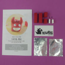 Load image into Gallery viewer, Make Your Own Devil Pigs Kit! Each kit makes 2 Devil Pigs