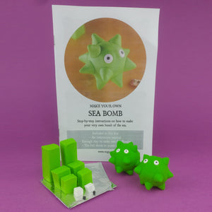Make Your Own Sea Bombs Kit! Each kit makes 2 Sea Bombs