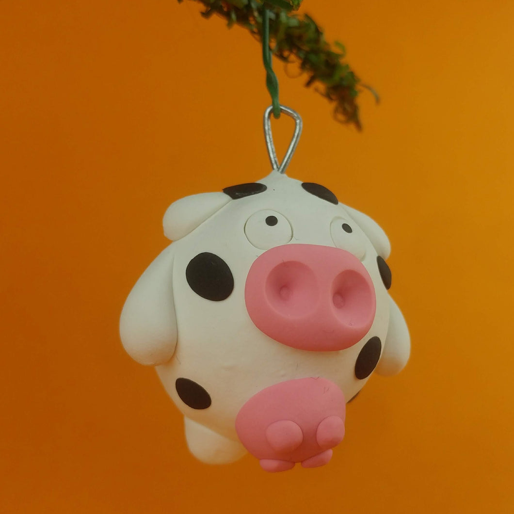 Convenience Cow Ornament