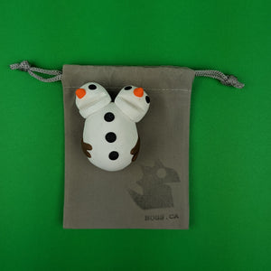 Double Headed Snowman Magnet