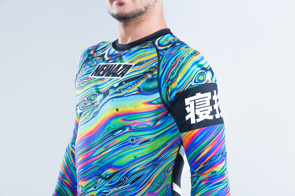 Invisible BJJ Rashguard 2.0