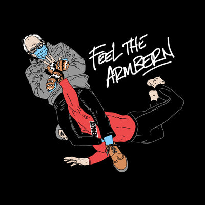 Feel The ArmBern Tee - Black