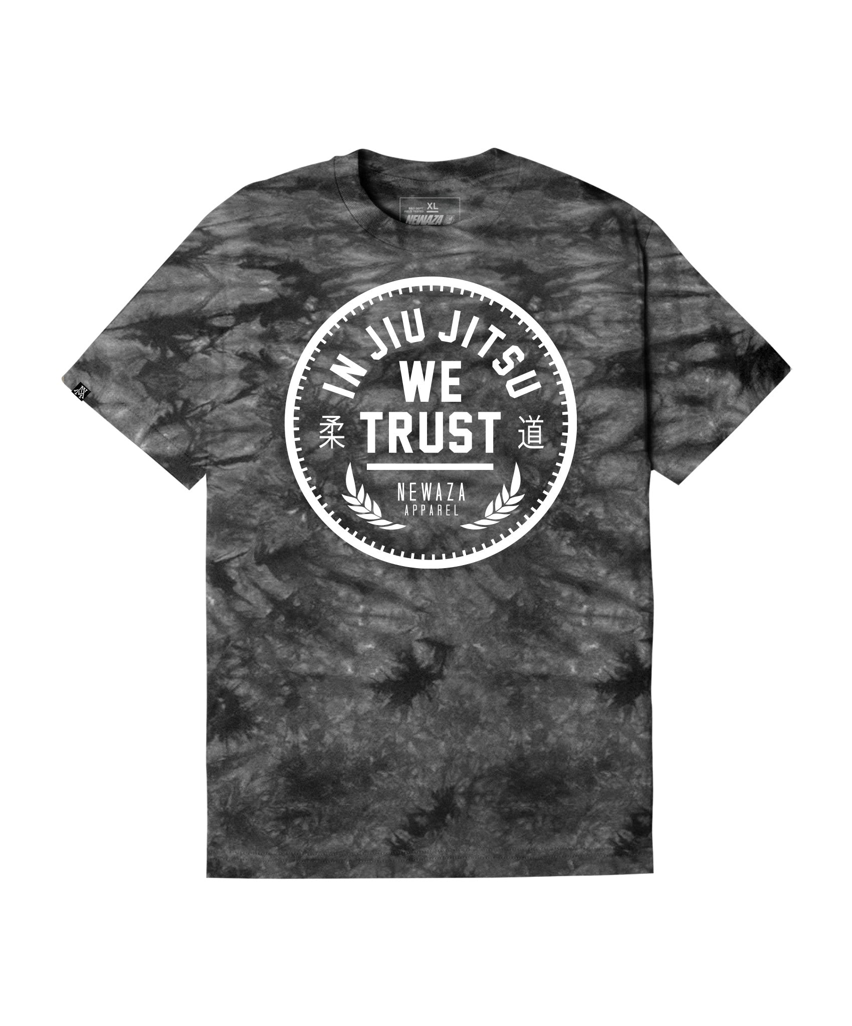 Dye In Jiu Jitsu We Trust Tee - Black