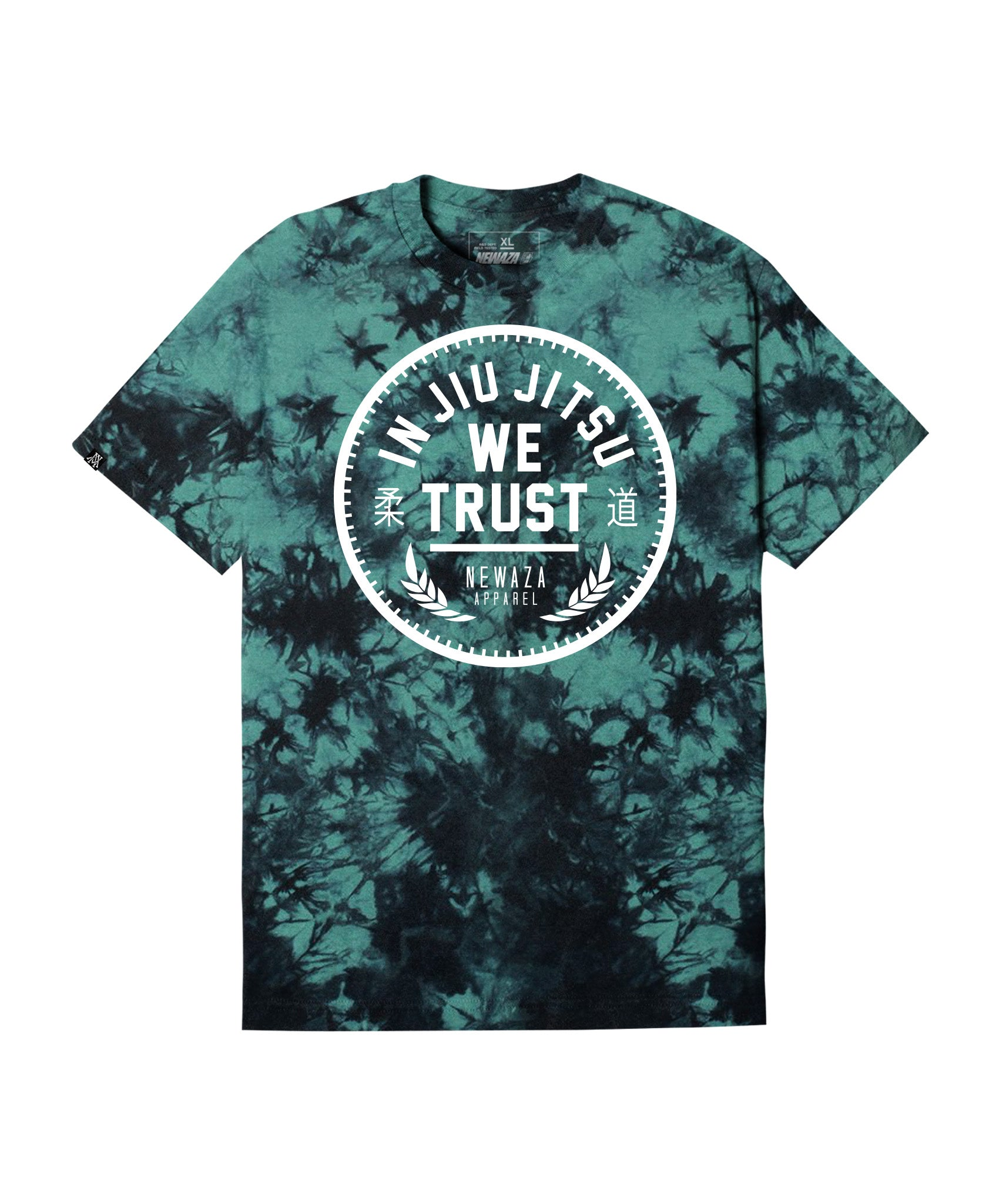 Dye In Jiu Jitsu We Trust Tee - Teal