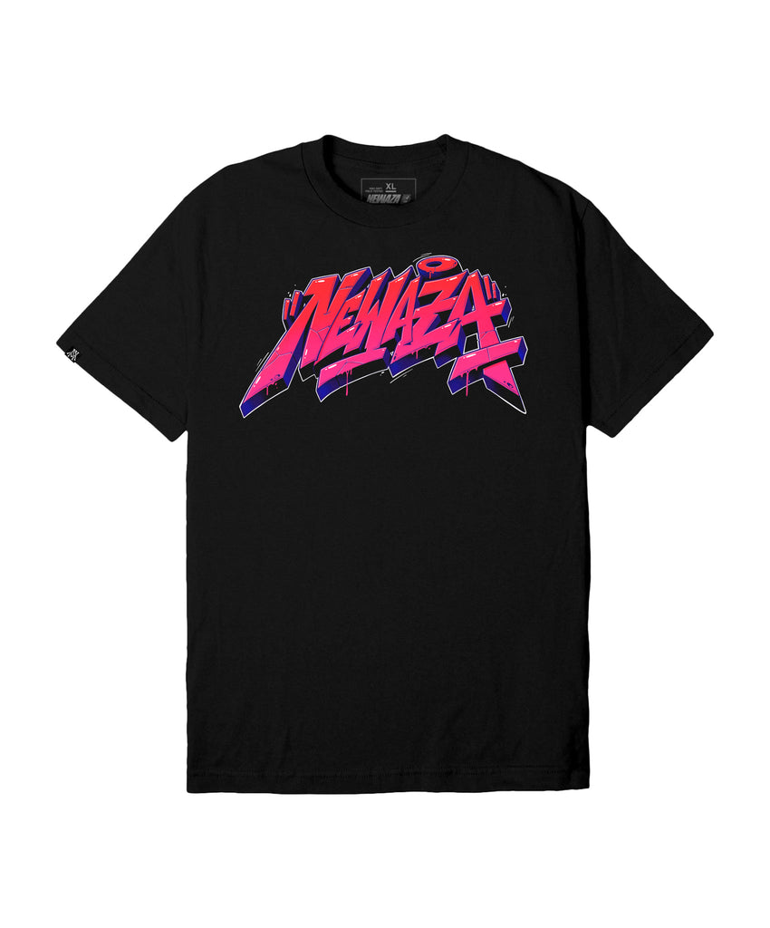 Newaza Street Effect Tee - Black