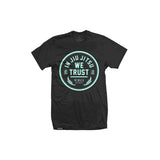 In Jiu Jitsu We Trust (TiffanyBlue on Black)
