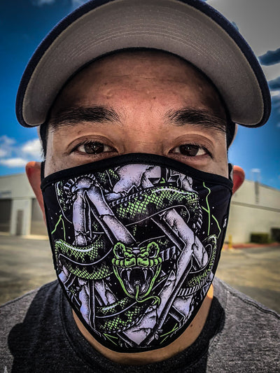"Newaza ""Anaconda"" Mask"