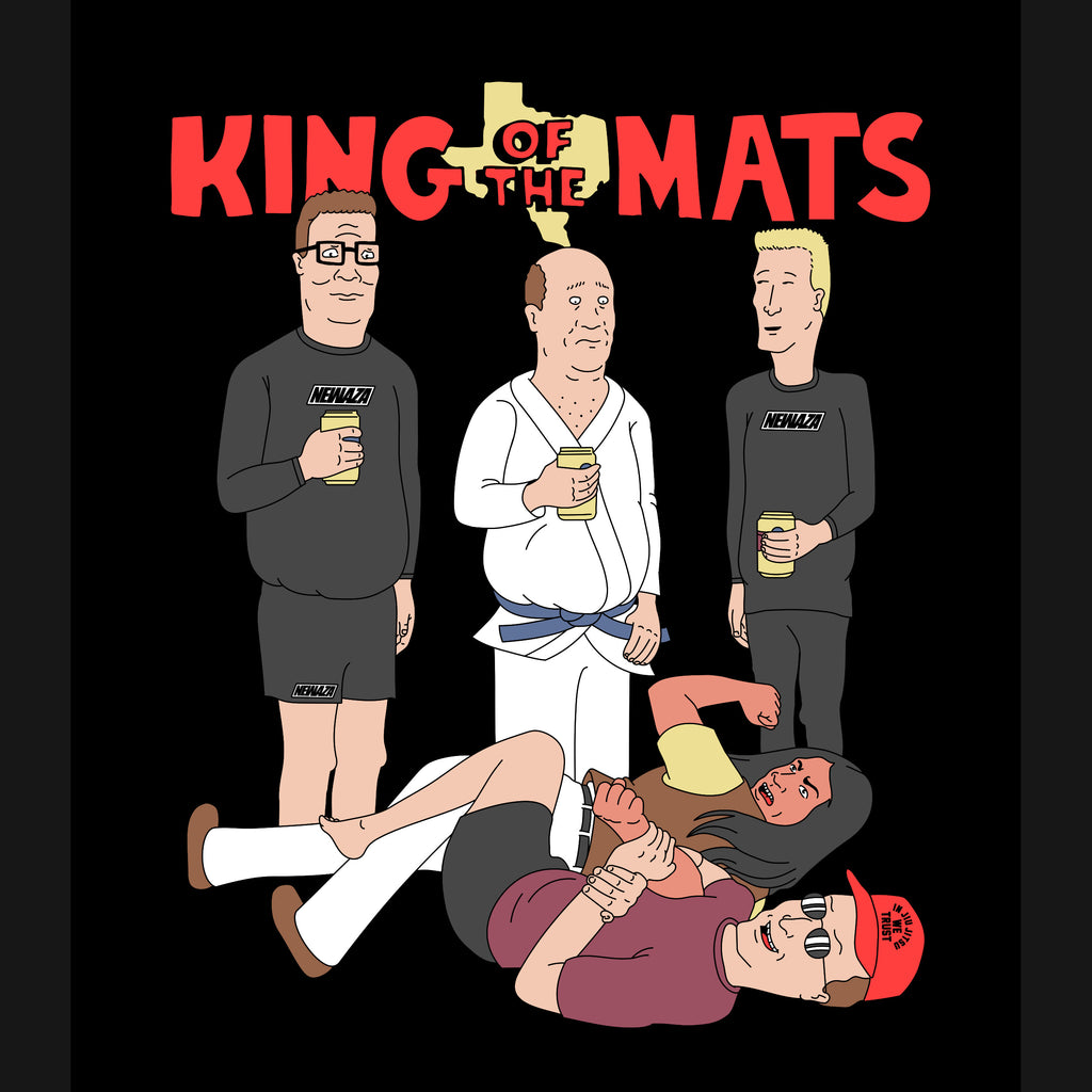 King Of The Mats Tee (Black)