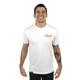 Choke-M-Out (White) BJJ Tee