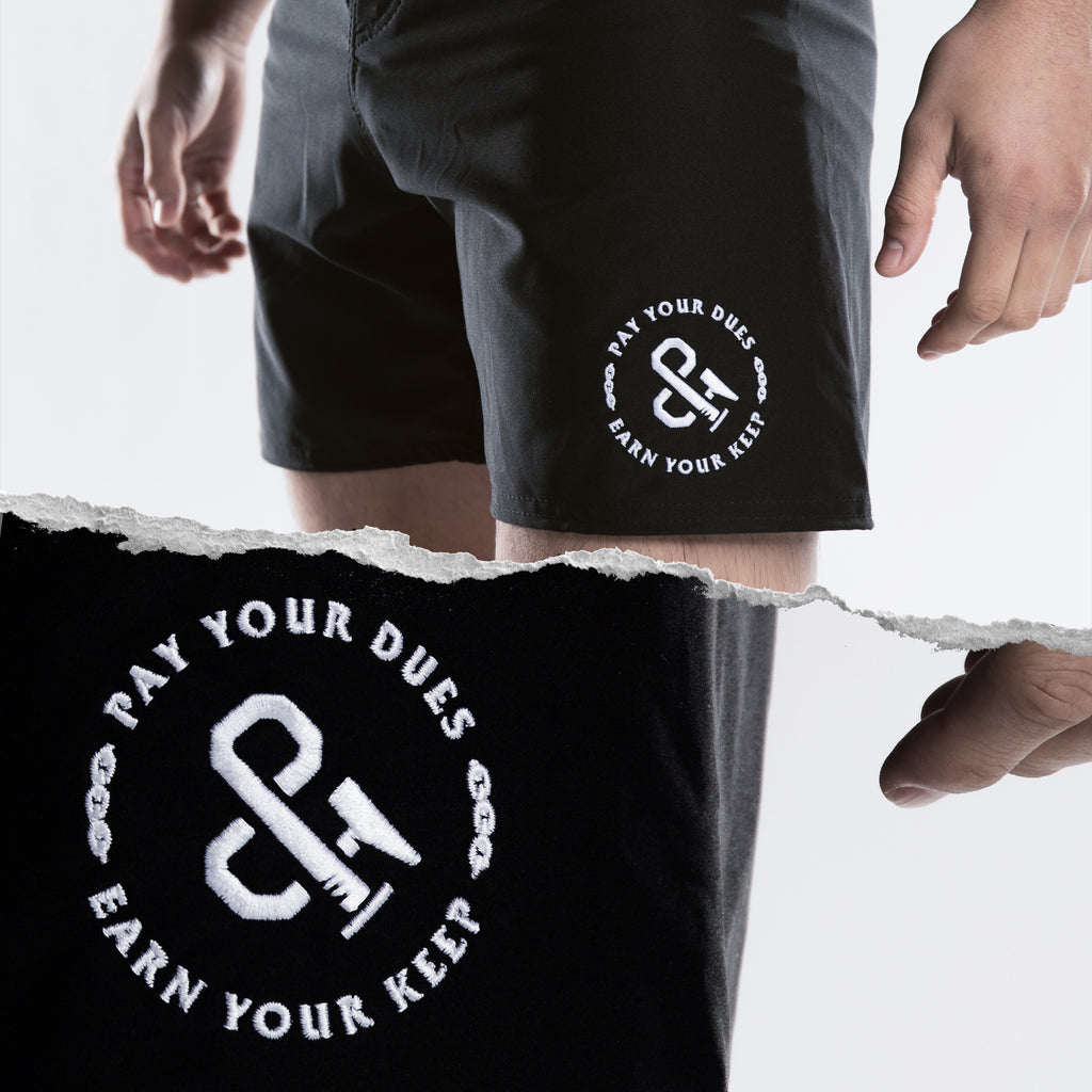Hammer and Nail Fight Shorts