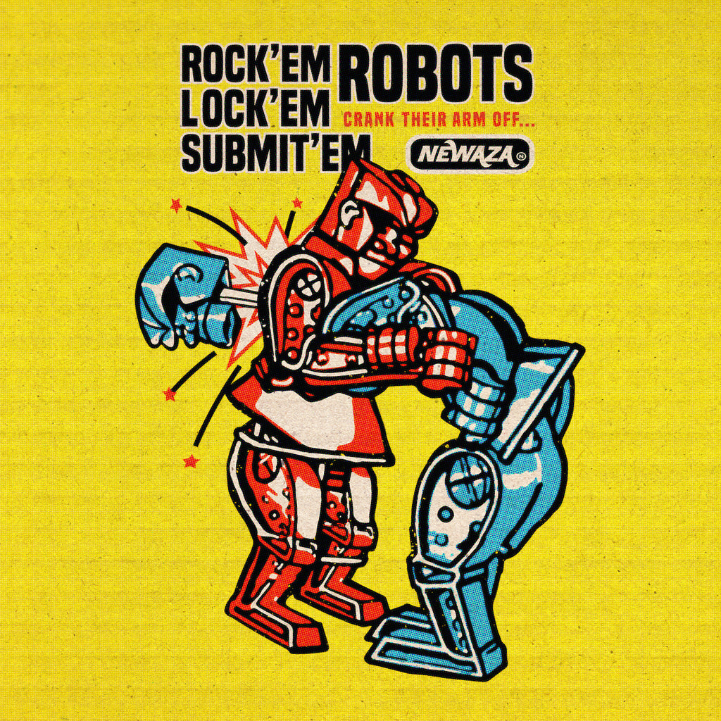 Rock'em Lock'em Submit'em Robots (Youth Fit)