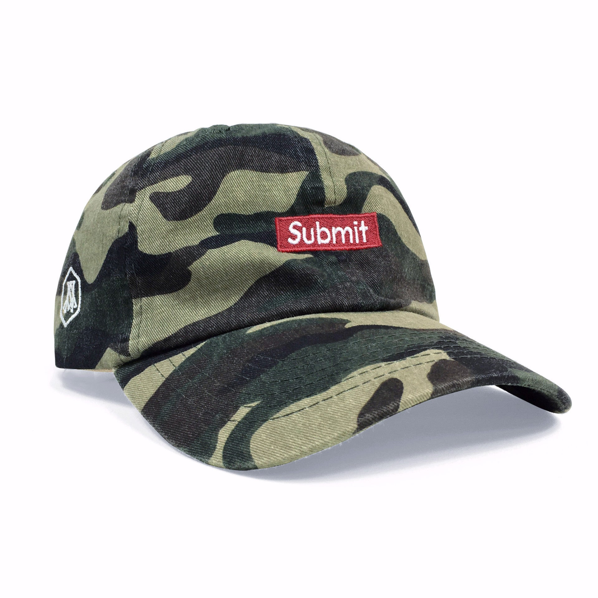 Submit (Camo Dad Hat)