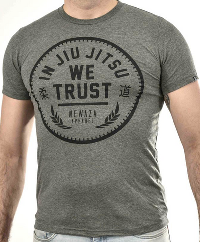 Trust Tee 2.0 - Black on Grey