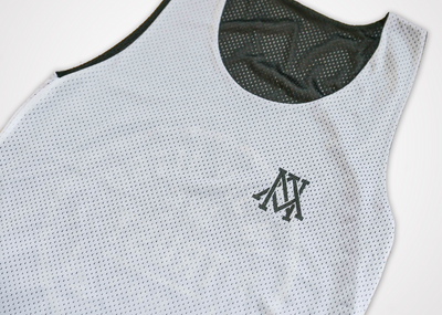 Trust Reversible Tank Top -  Black/White
