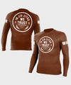 In Jiu Jitsu We Trust Ranked Long Sleeve Rashguards