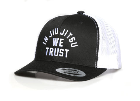 In Jiu Jitsu We Trust Pink Polo Hat