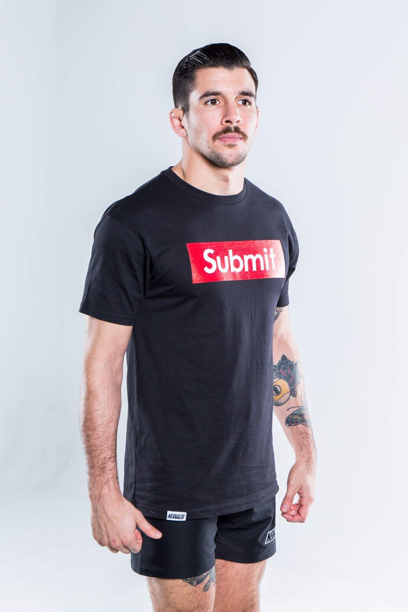 Submit Tee Black