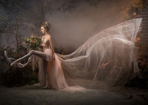 floral installation/ photography /ballet
