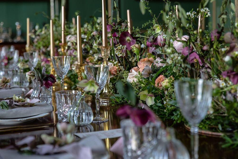 Glemham Hall Table Display