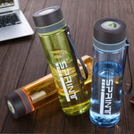 WSW round Plastic Water Bottle Free BPA Capacity 1000ML