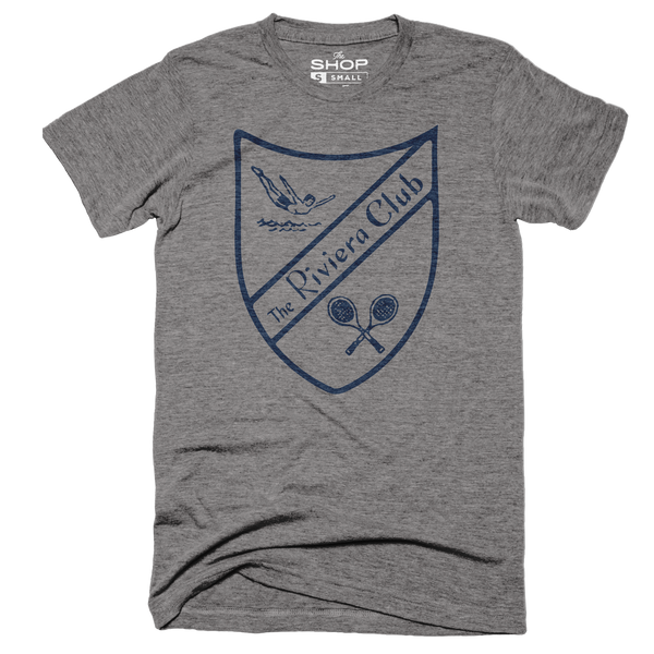 Riviera Club Vintage Shield Grey