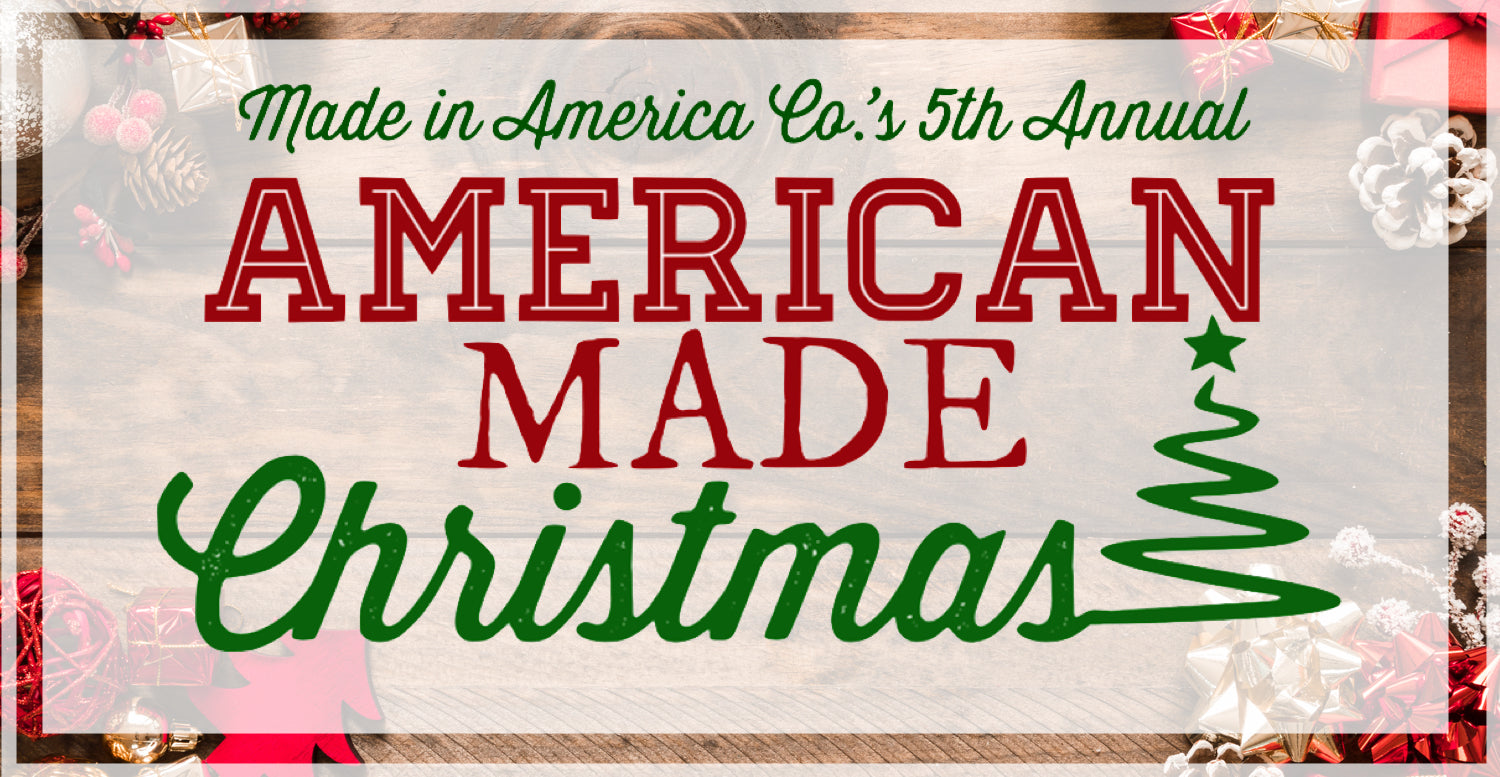 American Made Christmas 2018 | Gift Guide | Giveaway