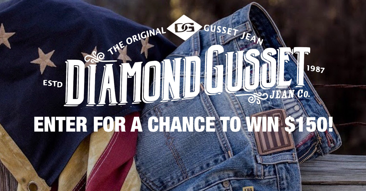Diamond Gusset Jeans | Sponsor of the Month | Giveaway