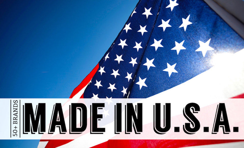 50+ Brands Committed to the American-Made Movement