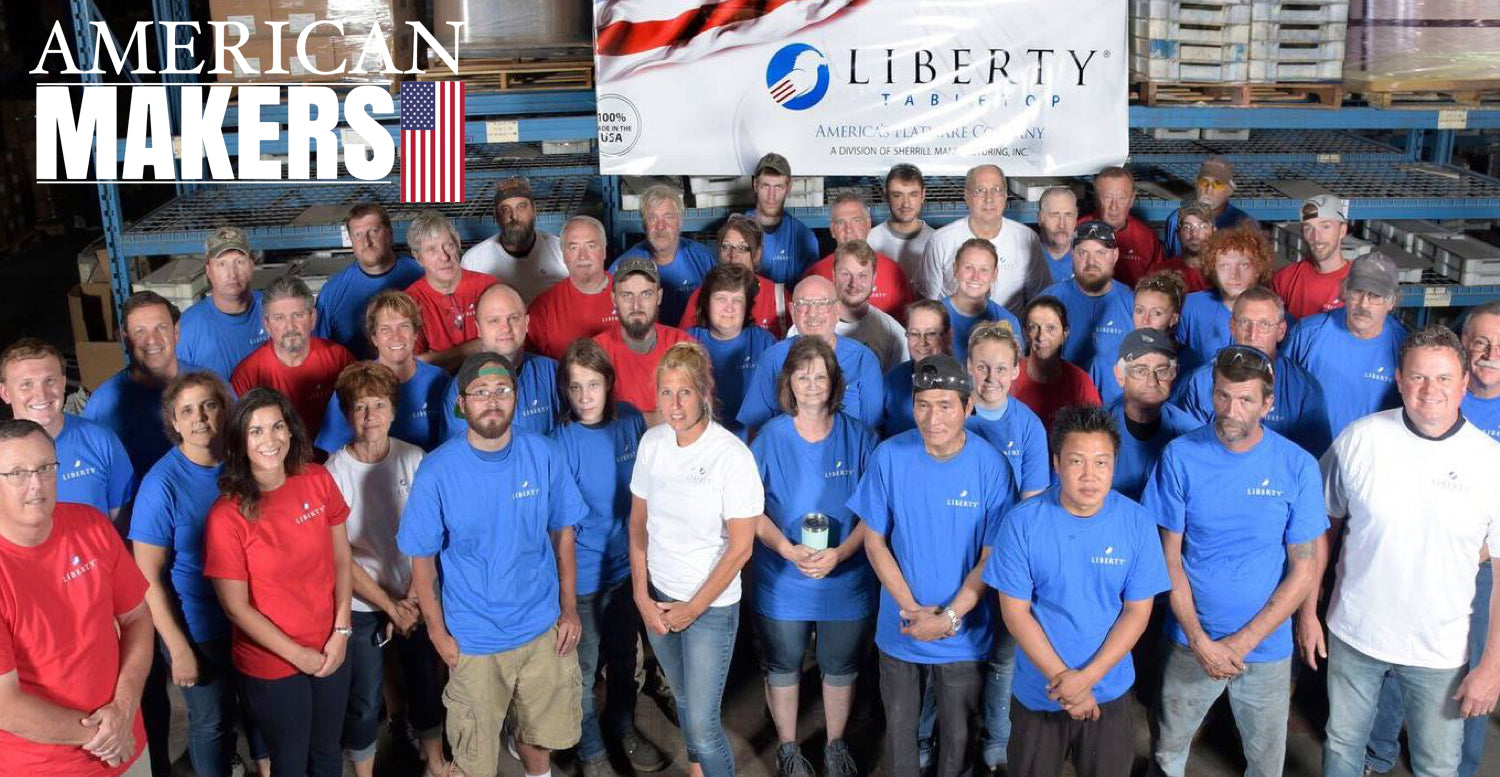 Liberty Tabletop | America's Last Flatware Manufacturer