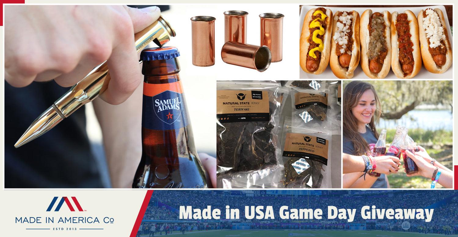 Made in USA Game Day Giveaway