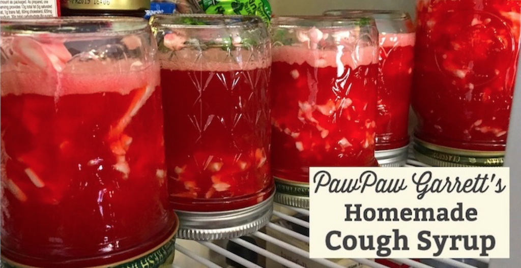 Pawpaw Garrett S Homemade Cough Syrup Made In America