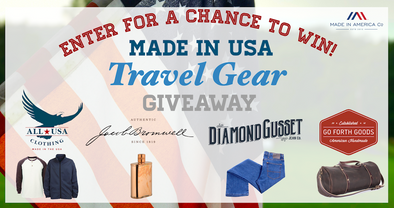 Made in USA Travel Gear Giveaway
