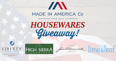 Made in America Co.'s Housewares Giveaway!