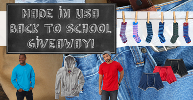 Back to School Clothing Giveaway | Made in USA