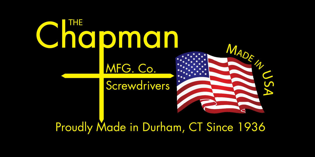 Chapman Mfg. | Enter to Win a Screwdriver Set