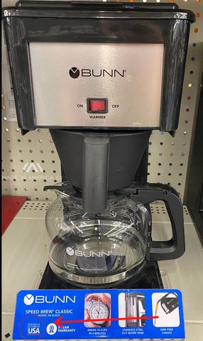 coffee maker assembled in america