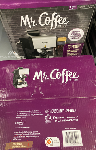 where is mr. coffee made