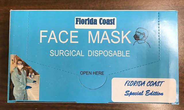FLORIDA COAST FACE MASK (50 MASKS)