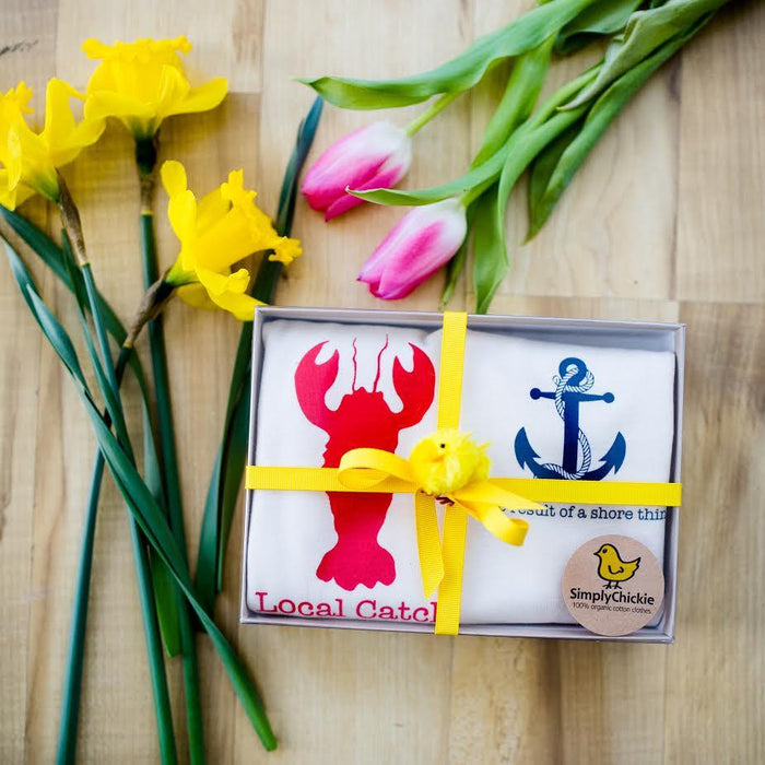 Nautical Baby Gift Set