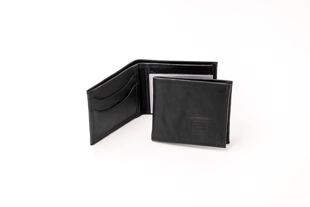 Black Buffalo Leather Wallet