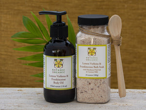 Lemon Verbena & Frankincense Bath Soak